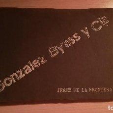 Postales: ANTOGUO ALBUM FOTOS DE BODEGAS GONZALEZ BYASS Y CIA, JEREZ DE LA FRONTERA. Lote 120823259