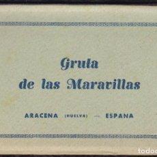 Postales: POSTALES - ARACENA (HUELVA) - GRUTA DE LAS MARAVILLAS. CONJUNTO POSTALES.. Lote 120897251