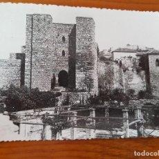 Postales: ANTIGUA POSTAL ALCAZABA MALAGA. Lote 120948339