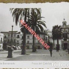 Postales: POSTAL ANTIGUA ORIGINAL Nº8 SANLUCAR DE BARRAMEDA PLAZA DEL CABILDO ED. ARRIBAS . Lote 121046215