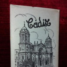 Postales: TIRA 10 POSTALES CADIZ. ED. GARCIA GARRABELLA Nº1. Lote 121050951
