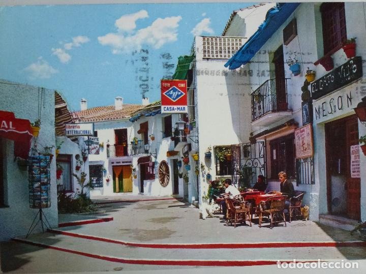 POSTAL. MÁLAGA. COSTA DEL SOL. TORREMOLINOS. EDICIONES BEASCOA. CIRCULADA. (Postales - España - Andalucia Moderna (desde 1.940))