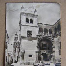 Cartes Postales: FOTO POSTAL - ECIJA - PALACIO DE LOS CONDES DE VALLEHERMOSO Y TORRE DE SAN JUAN- SIN CIRCULAR. Lote 121540123