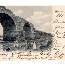 Postales: MÁLAGA.- PUENTE DEL REY. COLECCIÓN MALAGUEÑA. Lote 122166963