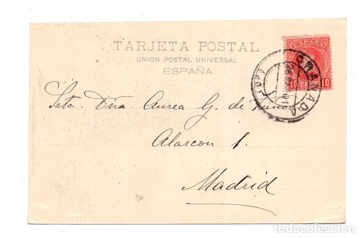 Postales: GRANADA.- ( ALHAMBRA ).- VISTA DESDE LA FUENTE DEL AVELLANO. HAUSER Y MENET - Foto 2 - 122168851