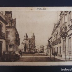 Postales: POSTAL HUELVA 14 - CALLE CANOVAS - ED RAFAEL MOJARRO - ROISIN, COCHE.. Lote 122195547