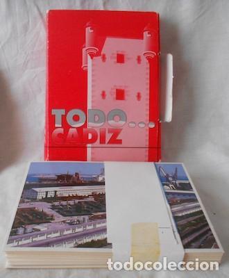 COLECCIÓN DE 31 POSTALES EN COLOR TODO...CÁDIZ (Postales - España - Andalucia Moderna (desde 1.940))