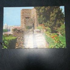 Postales: POSTAL MALAGA ALCAZABA MUSEO ARQUEOLÓGICO. Lote 122440095