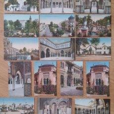 Postales: 16 POSTALES DE SEVILLA, 14 SON DE LA EDITORIAL C.R.S, Y UNO DE PURGER Y OTRA DE M. CHAPARTEGUY, NO C. Lote 122442211
