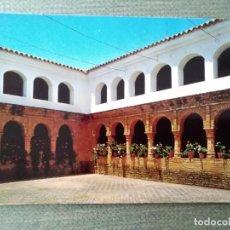 Postales: POSTAL HUELVA LA RABIDA PATIO MUDEJAR. Lote 122470659