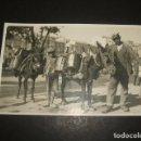 Postales: GRANADA HOMBRES CON BURROS POSTAL FOTOGRAFICA HACIA 1920. Lote 122573595