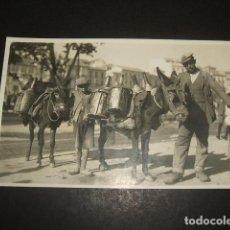 Postkarten - GRANADA HOMBRES CON BURROS POSTAL FOTOGRAFICA HACIA 1920 - 122573595