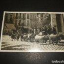 Postales: GRANADA REBAÑO DE CABRAS EN CALLE POSTAL FOTOGRAFICA HACIA 1920. Lote 122573695