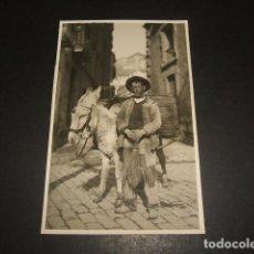 Postkarten - GRANADA BARRENDERO CON BURRO POSTAL FOTOGRAFICA HACIA 1920 - 122573811