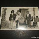 Postales: GRANADA GITANOS CON BURRO POSTAL FOTOGRAFICA HACIA 1920. Lote 122573859