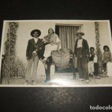 Postkarten - GRANADA GITANOS CON BURRO POSTAL FOTOGRAFICA HACIA 1920 - 122573859