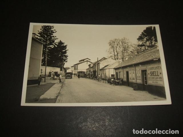 TORREMOLINOS MALAGA ASPECTO URBANO POSTAL FOTOGRAFICA (Postales - España - Andalucía Antigua (hasta 1939))