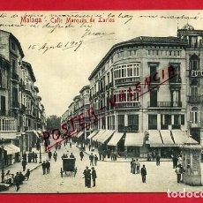 Postales: POSTAL MALAGA, CALLE MARQUES DE LARIOS, P88886. Lote 123389947