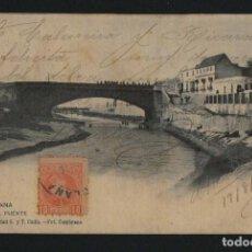 Postales: CHICLANA.EL PUENTE.Nº 4.FOT.CEMBRANO.POSTÁL CIRCULADA EN 1903.. Lote 124543203