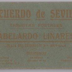 Postales: RECUERDO DE SEVILLA, TARJETAS POSTALES, ABELARDO LINARES, 20 POSTALES, EN PERFECTO ESTADO. Lote 124692223