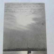Postales: PROFE LUIS GUTIÉRREZ AGOSTO 1904 SEVILLA. Lote 125054568