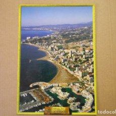 Cartes Postales: COSTA DEL SOL BENALMÁDENA. VISTA AÉREA DEL PUERTO MARINA Y PLAYAS DE BENALMÁDENA. SIN CIRCULAR. Lote 125227327