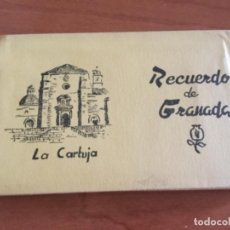 Postales: LIBRILLO ACORDEÓN, 15 POSTALES DE LA CARTUJA. GRANADA. Lote 125430051
