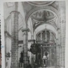 Postales: VILLACARRILO, JAEN, NAVE CENTRAL DE LA PARROQUIA. Lote 125845655