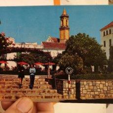 Postales: POSTAL ESTEPONA PLAZA DE JOSE ANTONIO VISTA PARCIAL. Lote 126097871