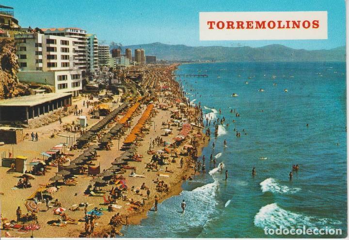 (17) TORREMOLINOS. PLAYA DEL BAJONDILLO (Postales - España - Andalucia Moderna (desde 1.940))