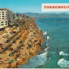 Postales: (17) TORREMOLINOS. PLAYA DEL BAJONDILLO. Lote 126372947