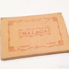 Postales: FUNDA CON 10 POSTALES FOTOGRÁFICAS DE MÁLAGA - L. ROISIN. Lote 126958007