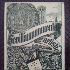Postales: PORTADA DE UN INTERESANTE LIBRO DE D. JOSÉ GESTOSO. POSTAL HISPANO - AMERICANA. SIN CIRCULAR.. Lote 127494231