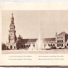 Postales: SEVILLA - EXPOSICION IBERO-AMERICANA - 50 LAMINAS POSTALES - BLANCO Y NEGRO. Lote 127577459