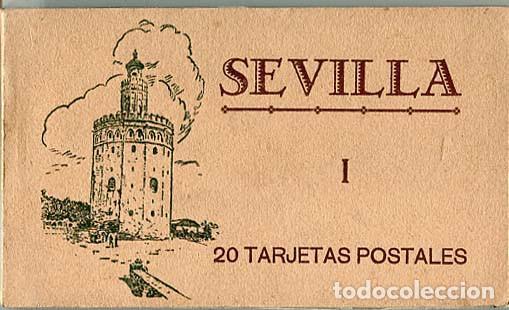 SEVILLA BLOC COMPLETO CON 20 POSTALES. ED. M. BARREIRO. (Postales - España - Andalucía Antigua (hasta 1939))