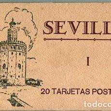 Postales: SEVILLA BLOC COMPLETO CON 20 POSTALES. ED. M. BARREIRO.. Lote 127662075