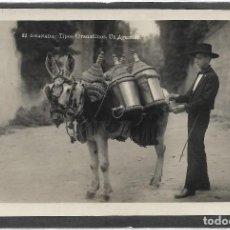 Postales: GRANADA Nº 32 TIPOS GRANADINOS .- UN AGUADOR S/C. Lote 128153479