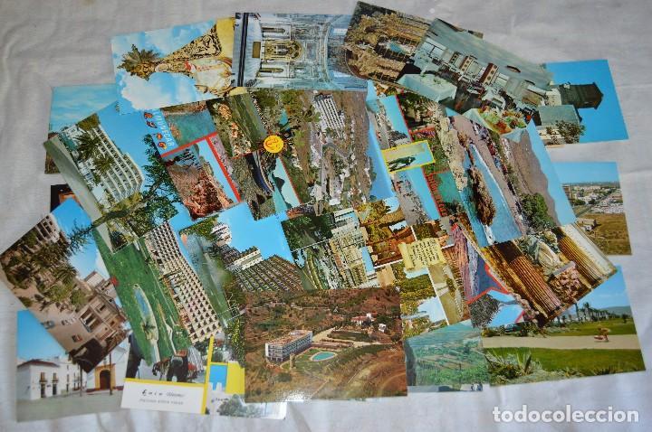 LOTE DE 36 POSTALES SIN CIRCULAR - ALMERIA, GRANADA, MALAGA Y CAMPO GIBRALTAR - ENVÍO 24H (Postales - España - Andalucia Moderna (desde 1.940))