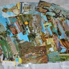 Postales: LOTE DE 36 POSTALES SIN CIRCULAR - ALMERIA, GRANADA, MALAGA Y CAMPO GIBRALTAR - ENVÍO 24H. Lote 144065718