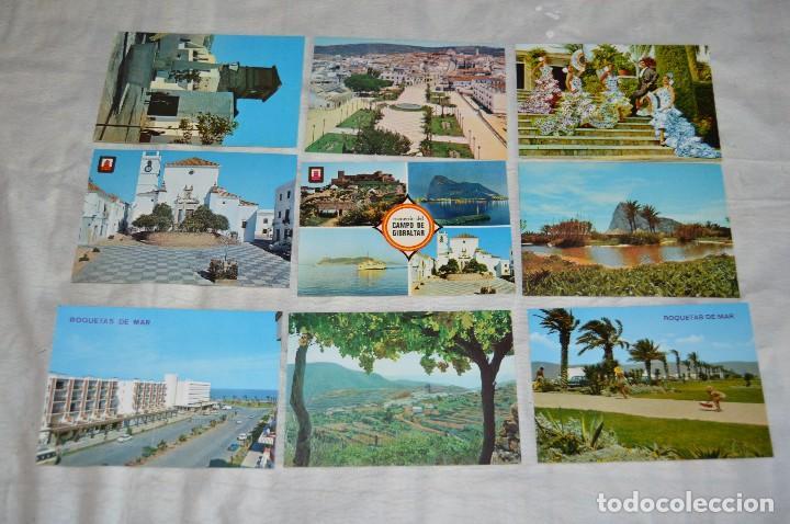 Postales: LOTE DE 36 POSTALES SIN CIRCULAR - ALMERIA, GRANADA, MALAGA Y CAMPO GIBRALTAR - ENVÍO 24H - Foto 2 - 144065718