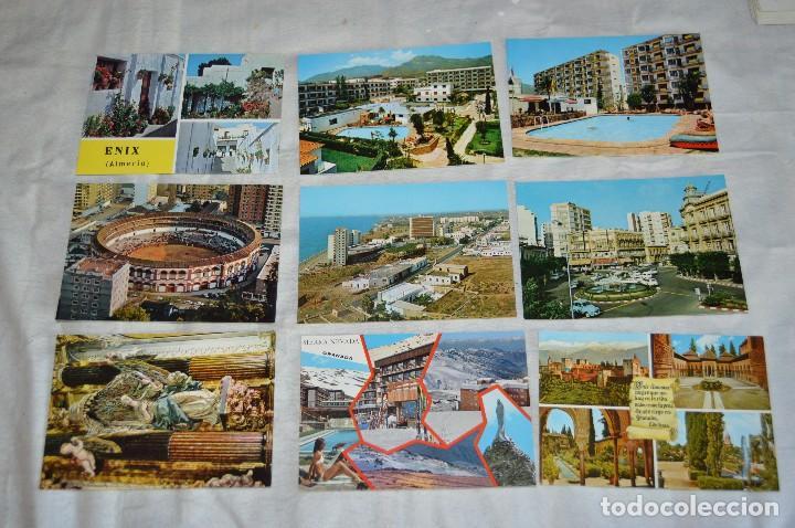 Postales: LOTE DE 36 POSTALES SIN CIRCULAR - ALMERIA, GRANADA, MALAGA Y CAMPO GIBRALTAR - ENVÍO 24H - Foto 3 - 144065718