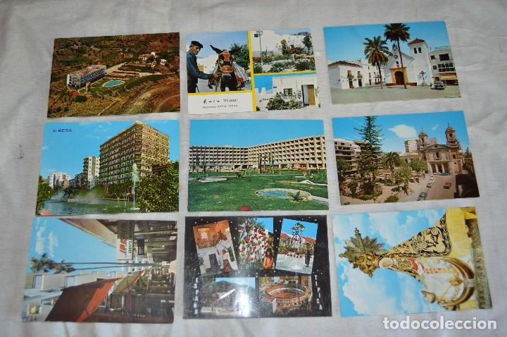 Postales: LOTE DE 36 POSTALES SIN CIRCULAR - ALMERIA, GRANADA, MALAGA Y CAMPO GIBRALTAR - ENVÍO 24H - Foto 4 - 144065718