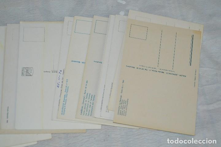 Postales: LOTE DE 36 POSTALES SIN CIRCULAR - ALMERIA, GRANADA, MALAGA Y CAMPO GIBRALTAR - ENVÍO 24H - Foto 7 - 144065718