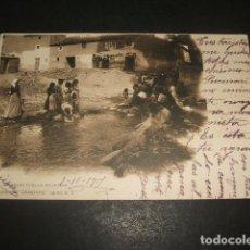 Postales: ALHAMA DE GRANADA JAYENA LAVADERO PUBLICO COLECCION CANOVAS. Lote 128371091
