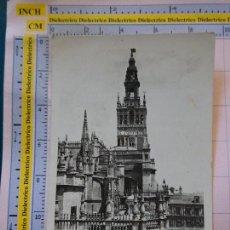 Postales: POSTAL DE SEVILLA. AÑOS 30 50. CATEDRAL Y GIRALDA. 4 HELIOTIPIA. 271. Lote 128390663