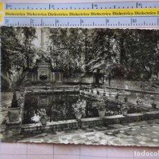 Postales: POSTAL DE SEVILLA. AÑOS 30 50. PARQUE DE MARIA LUISA. GLORIETA HERMANOS QUINTERO. 60 LINARES. 276. Lote 128390843