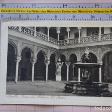 Postales: POSTAL DE SEVILLA. AÑOS 10 30. CASA DE PILATOS, EL PATIO. 17 RYR. 283. Lote 128391095