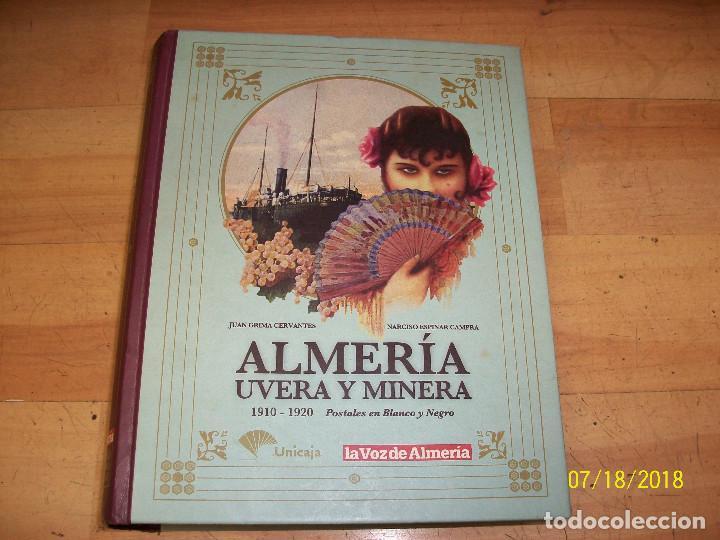 ALMERIA-UVERA Y MINERA-ALBUM COMPLETO CON 152 PORTALES (Postales - España - Andalucía Antigua (hasta 1939))