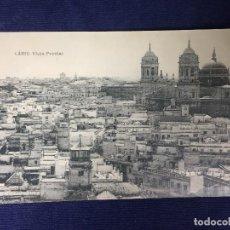 Postales: POSTAL ANTIGUA CADIZ VISTA PARCIAL ED FOTOTIPIA HAUSER ESCRITA CIRCULADA. Lote 128868195
