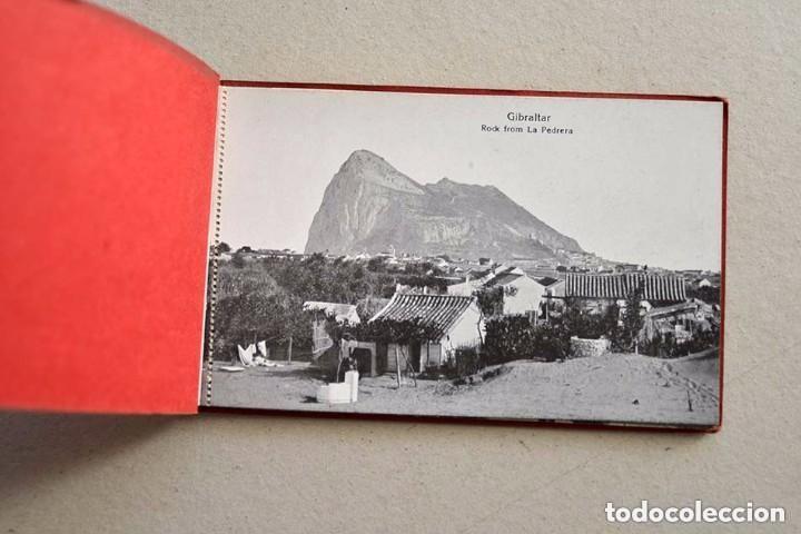 ANTIGUAS 10 POSTALES SOUVENIR OF GIBRALTAR VINCENT B. CUMBO 157 MAIN STREET (Postales - España - Andalucía Antigua (hasta 1939))